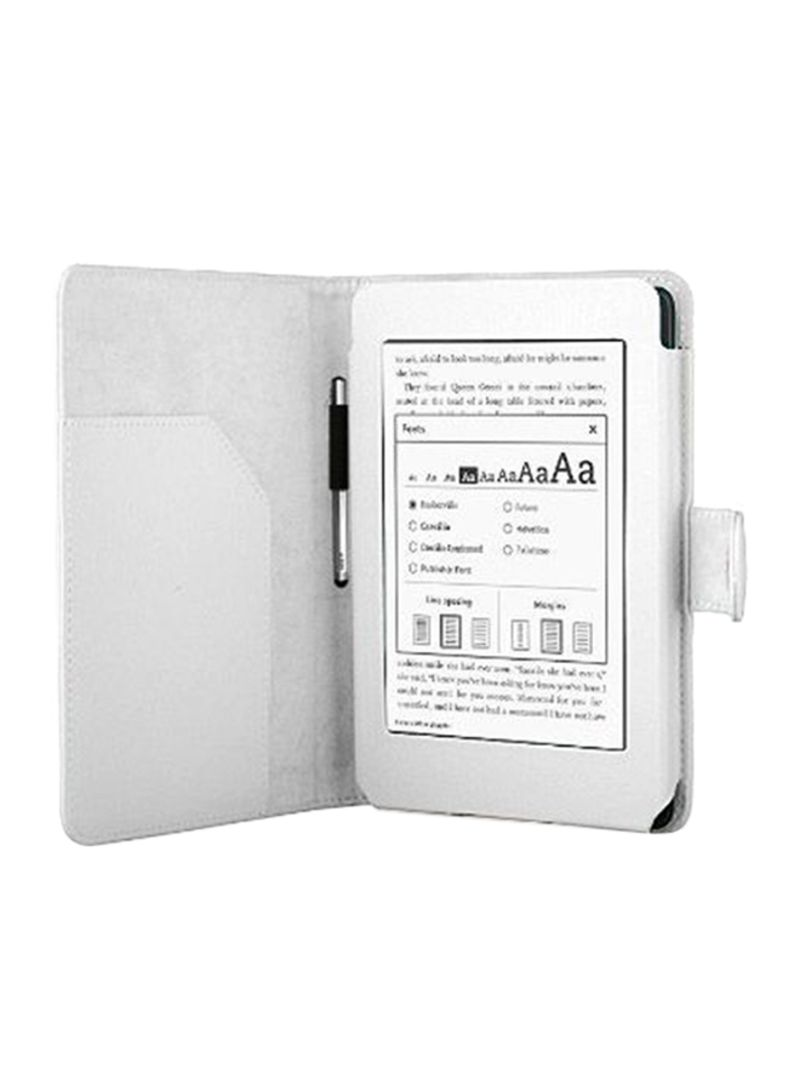 Shop Generic White Smart Leather Case Cover For New Amazon Kindle  Paperwhite Auto Wake /Sleep White online in Dubai, Abu Dhabi and all UAE