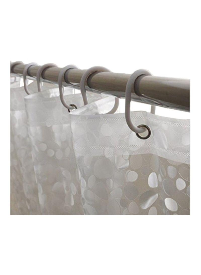 تسوق كوبير إندستريز وستارة دش من بلاستيك Pvc شفاف 270x137 سنتيمتر أونلاين في الإمارات