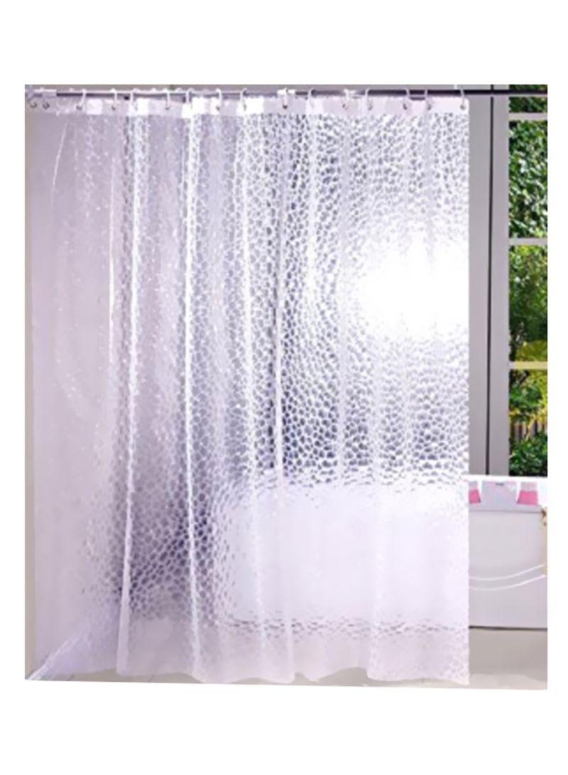تسوق كوبير إندستريز وستارة استحمام مضادة للماء شفاف 240x240 سنتيمتر أونلاين في الإمارات