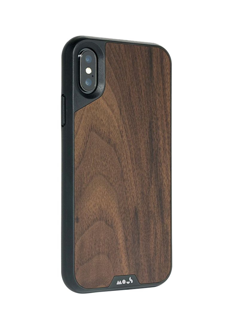 the best attitude 90b73 fad64 Shop Mous Walnut Mous Limitless 2.0 Case Cover For iPhone XS Max Brown  online in Dubai, Abu Dhabi and all UAE