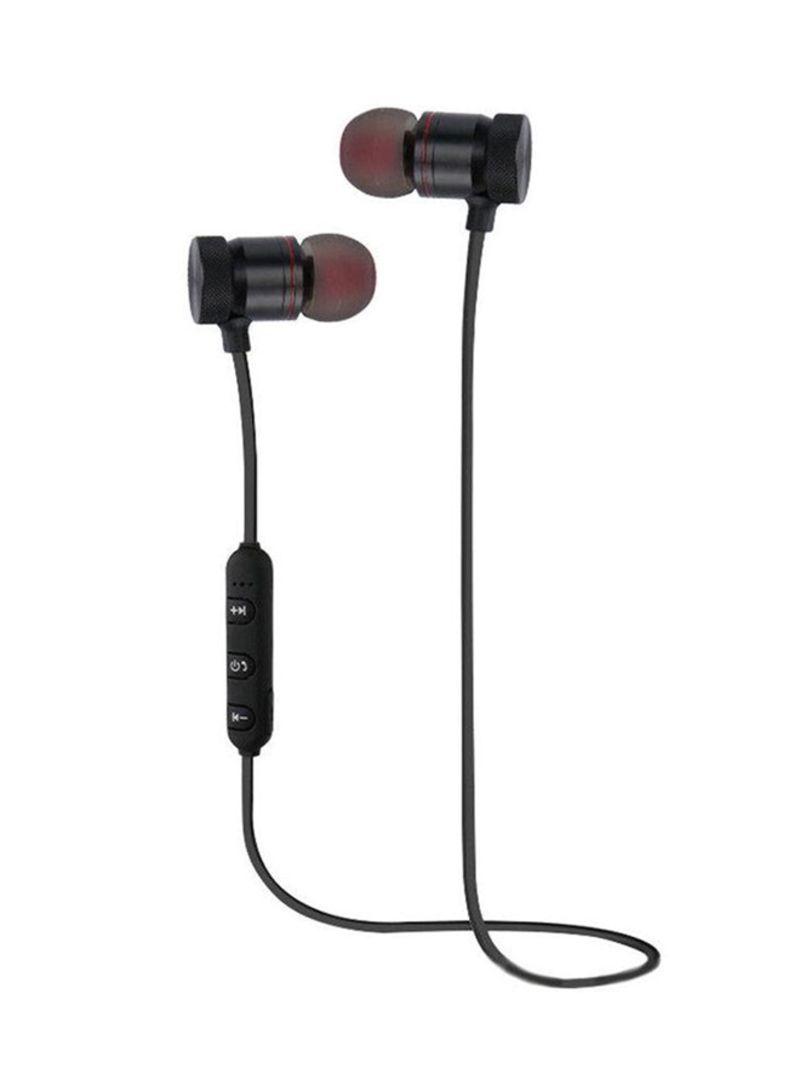 Magnet Wireless Bluetooth For Iphone Samsung Headset Sports Earphone Headphone Black Price In Saudi Arabia Noon Saudi Arabia Kanbkam