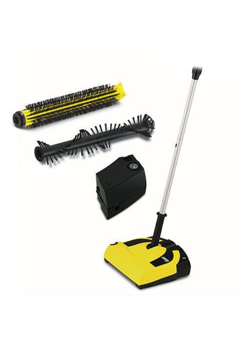 Shop KARCHER K 55 Cordless Electric Broom Yellow/Black/Silver 260x300x96  millimeter online in Dubai, Abu Dhabi and all UAE
