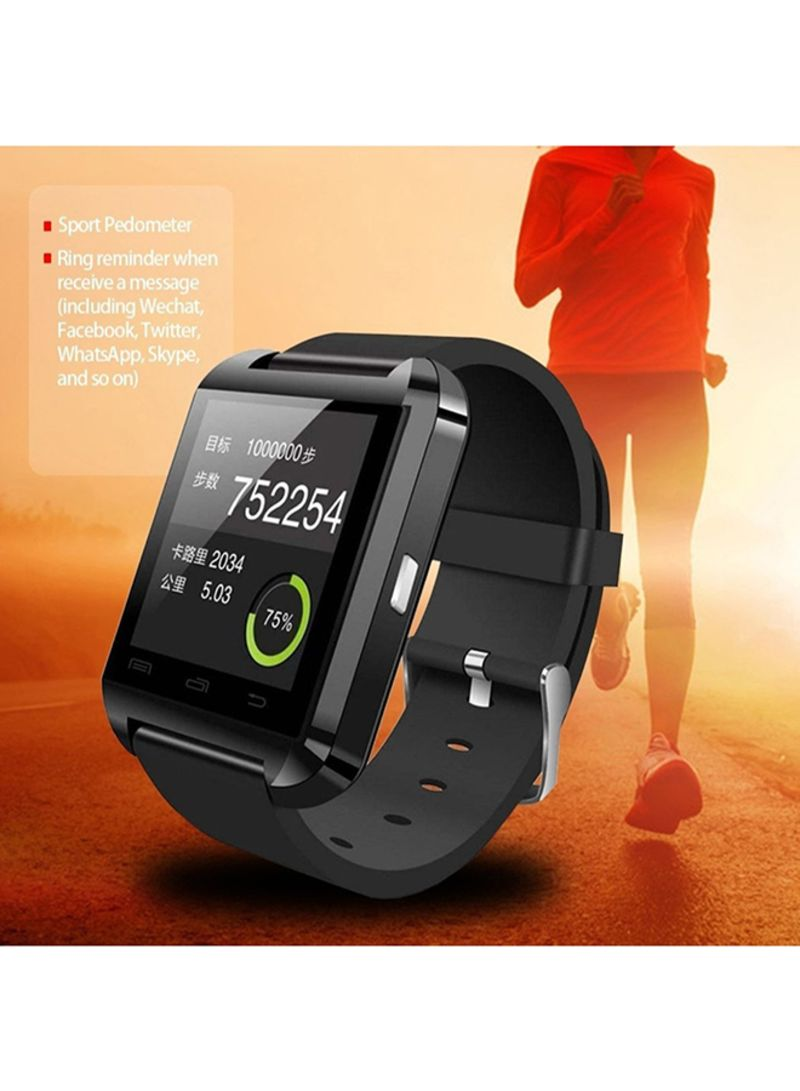 Shop Generic U8 Smart Watch Red online in Riyadh, Jeddah and