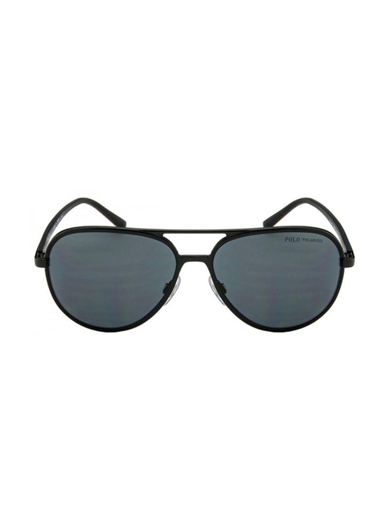 41d883db69fc Shop Polo Ralph Lauren Full-Rimmed Aviator Sunglasses PH3102/9267/81 ...