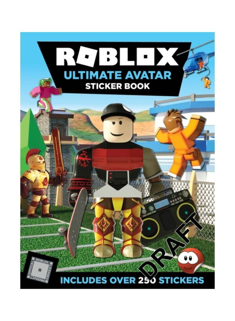 Shop Roblox Ultimate Avatar Sticker Book Paperback Online In