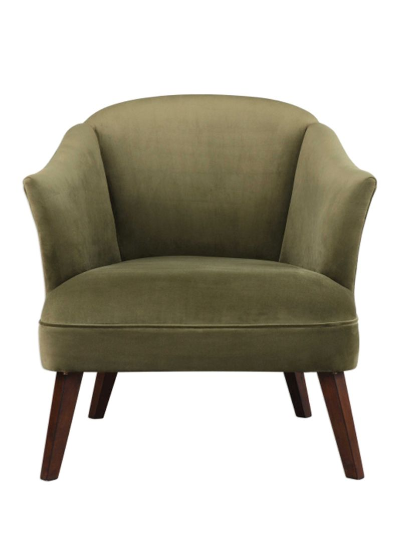 Picture of: Shop Uttermost Conroy Accent Chair Green Brown 31x31x30inch Online In Dubai Abu Dhabi And All Uae