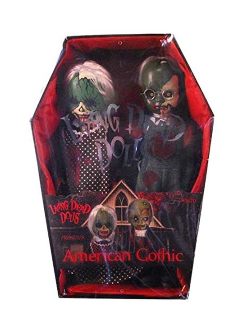 Shop Living Dead Dolls Mezco Toyz 2Pack American Gothic