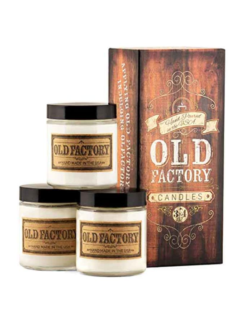 Shop Old Factory Old Factory Scented Candles for Men - Lumberjack -  Decorative Aromatherapy - Handmade in The USA with Only The Best Fragrance  Oils -