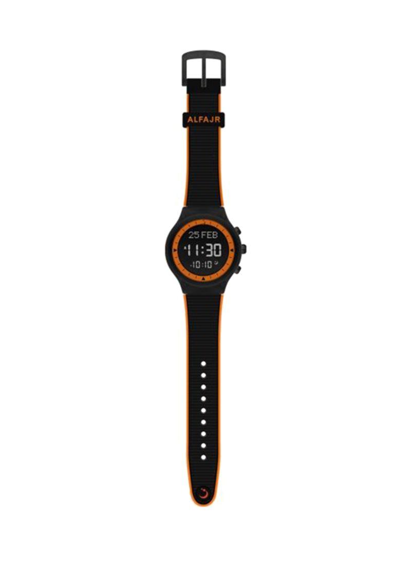 911876e88 تسوق الفجر وSilicone Digital Watch 6281106031608-BK للرجال أونلاين ...