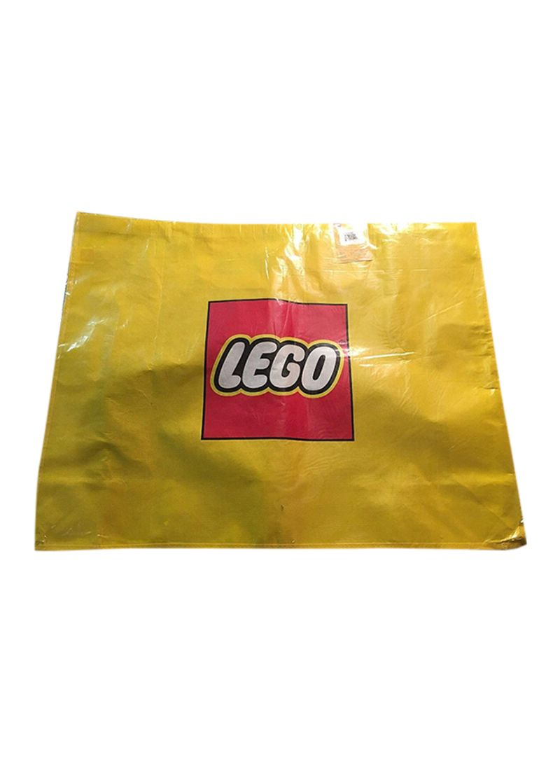Lego Exclusive Promo Large Retail Shopper Bag 29x22 1//2 Carrying Storage Tote Bag Yellow, 5005325