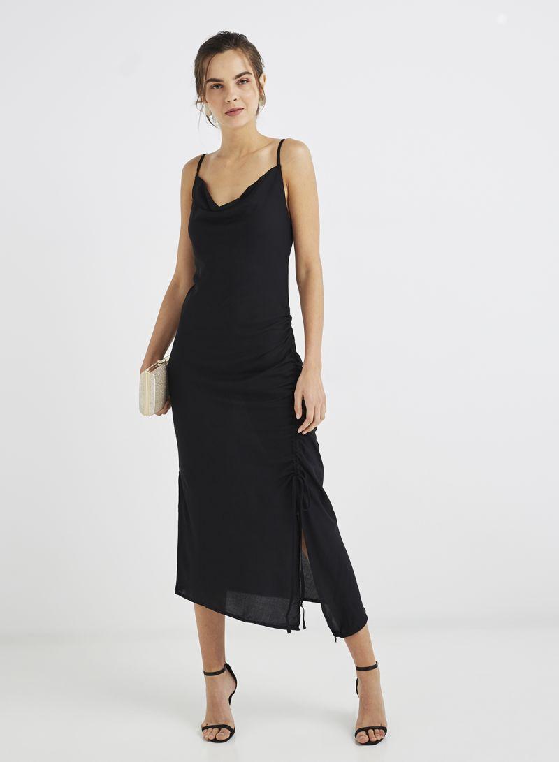 71345e88388 Shop Trendyol Dress Black online in Dubai