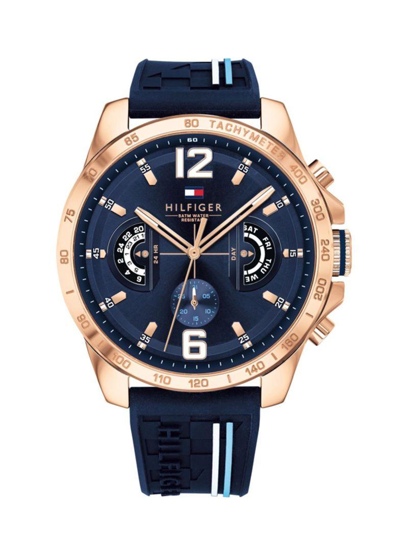 8128cd706 Shop Tommy Hilfiger Men's Water Resistant Analog Watch 1791474 ...