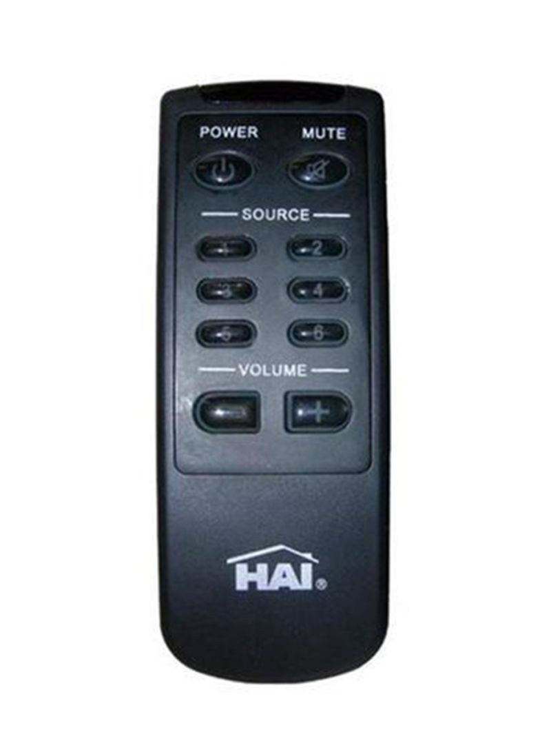 Remote Control For Home Entertainment Device Black