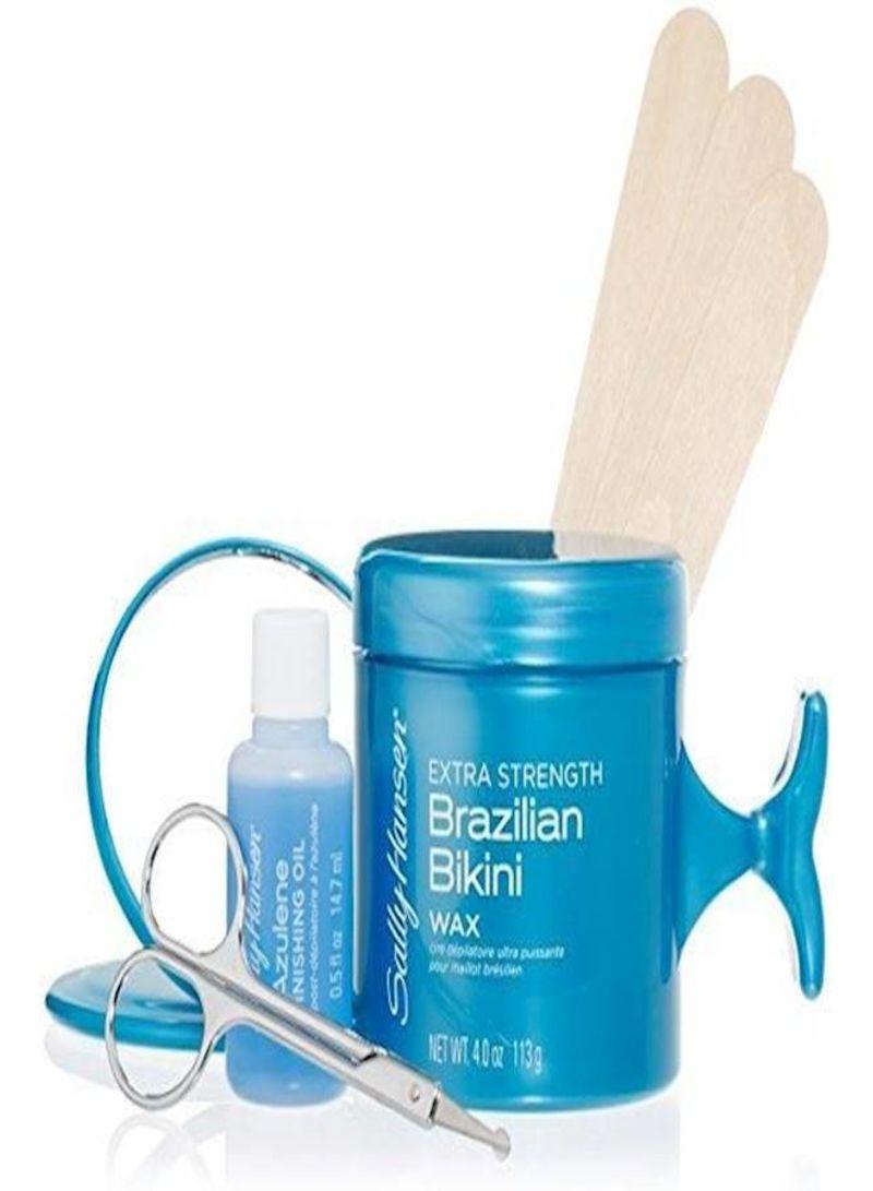 Shop Sally Hansen Extra Strength Brazilian Bikini Wax With Shaping Kit 113  g online in Dubai, Abu Dhabi and all UAE