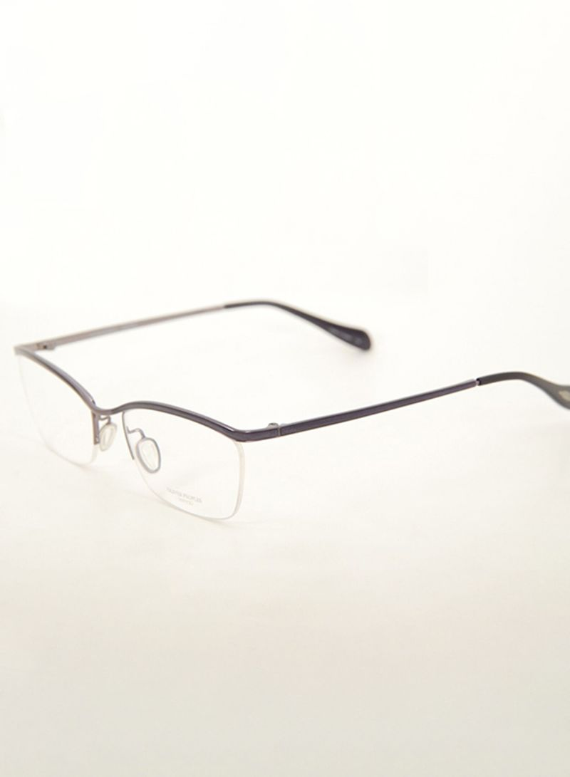833a2b088 تسوق Oliver Peoples وPosy Semi-Rimless Frame Eyeglasses 5011 للنساء ...