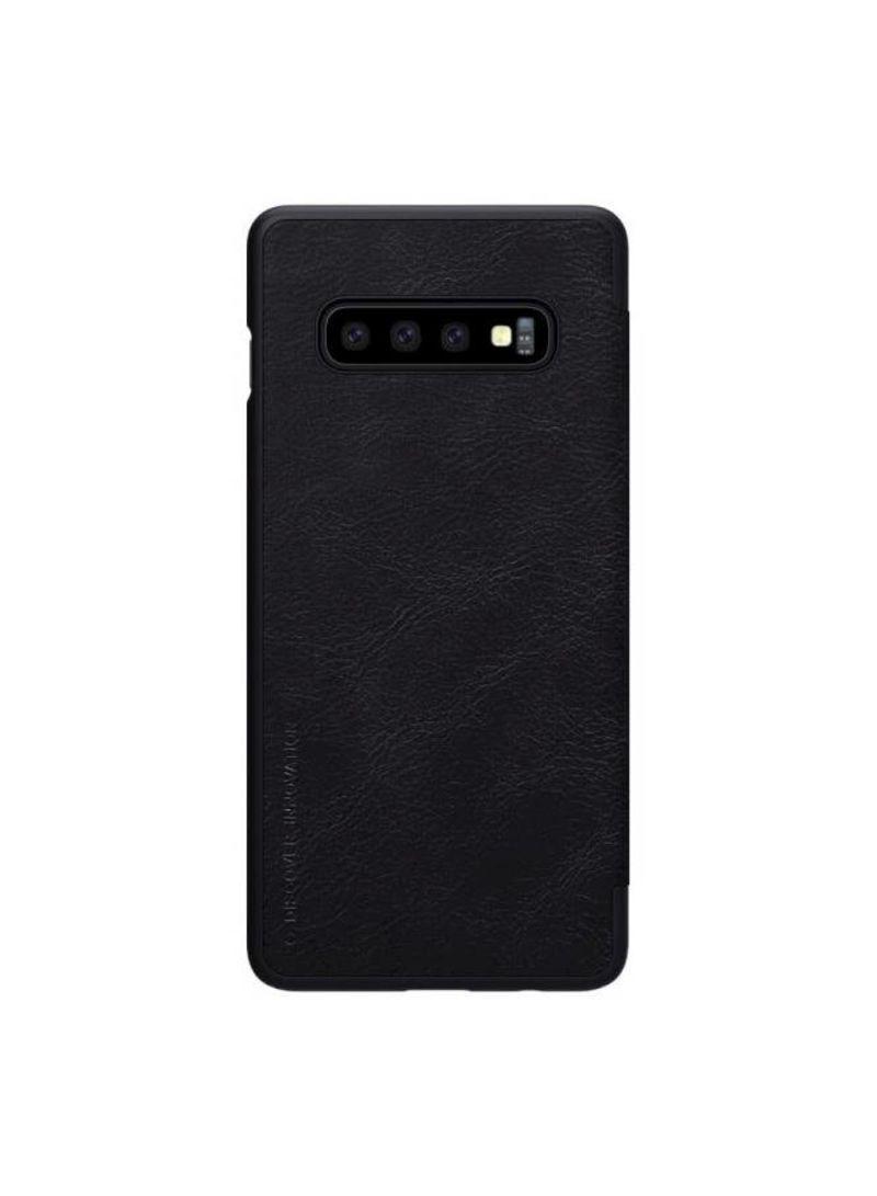 pretty nice 425aa 4a994 Shop Nillkin Samsung Galaxy S10 Flip Mobile Cover Qin Flip Series ...