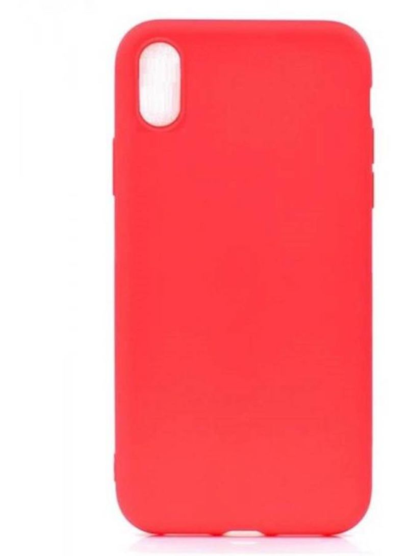 Shop Muzz Soft Case Cover For Apple iPhone XR Red online in Dubai, Abu  Dhabi and all UAE