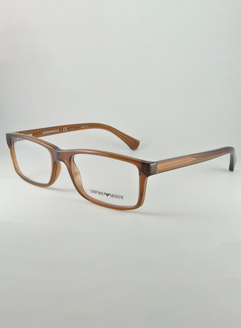 1348c4bf Shop Emporio Armani Men's Square Frame Eyeglasses EA 3065 ...