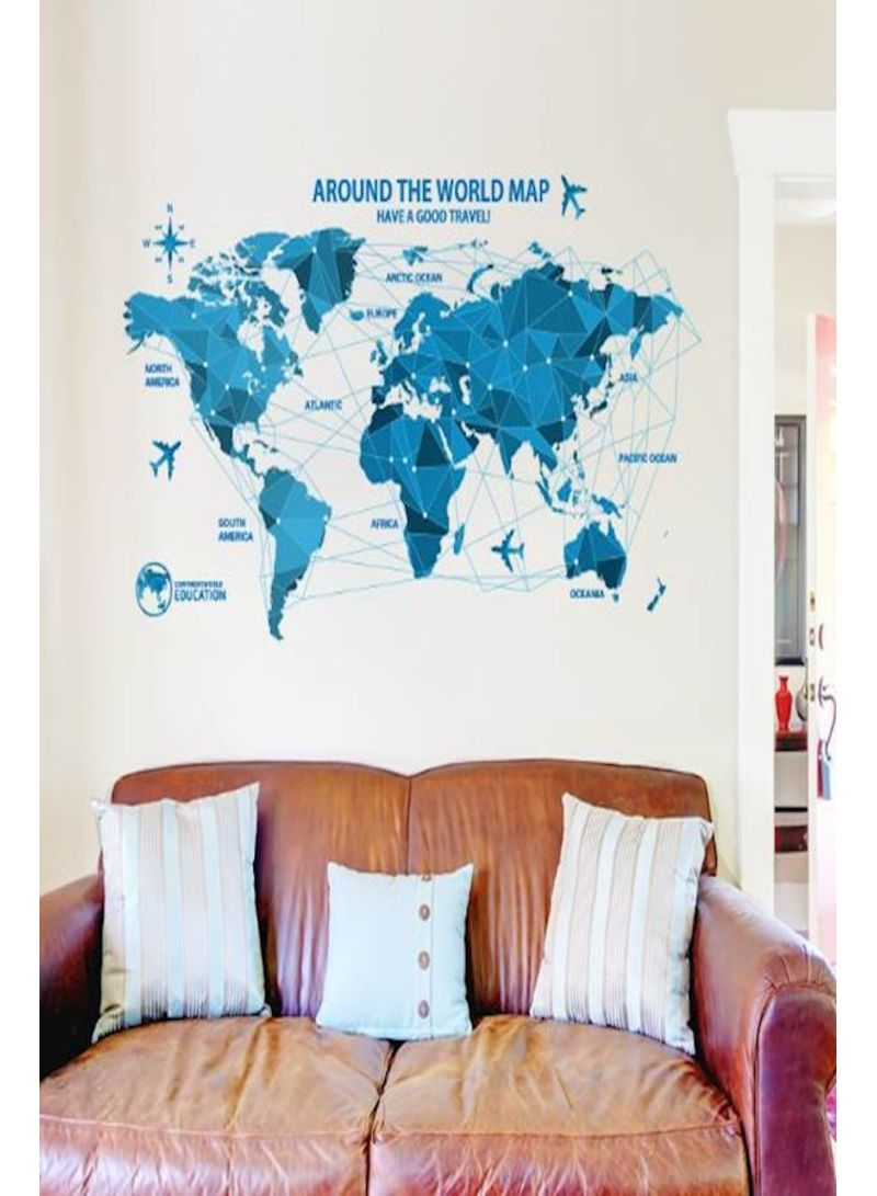 f75933b66 Shop Generic Creative world Map Wall Stickers Science Technology ...