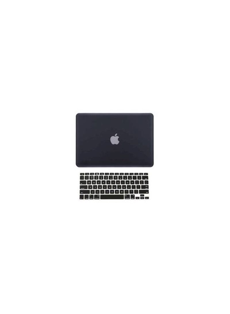official photos 66a26 d3195 Shop TOP CASE Topcase 2-in-1 Rubberized Hard Case Cover And Keyboard Cover  For Macbook Pro 15-inch A1398 With Retina Display - Black online in Dubai,  ...