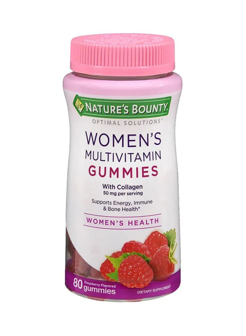 Shop Nature S Bounty Hair Skin And Nail Optimal Solution 80 Gummies Online In Dubai Abu Dhabi And All Uae