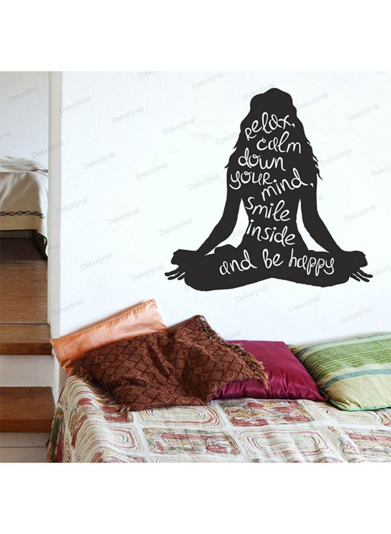 Shop Evila Originals Dck267 Decorative Wall Sticker Black
