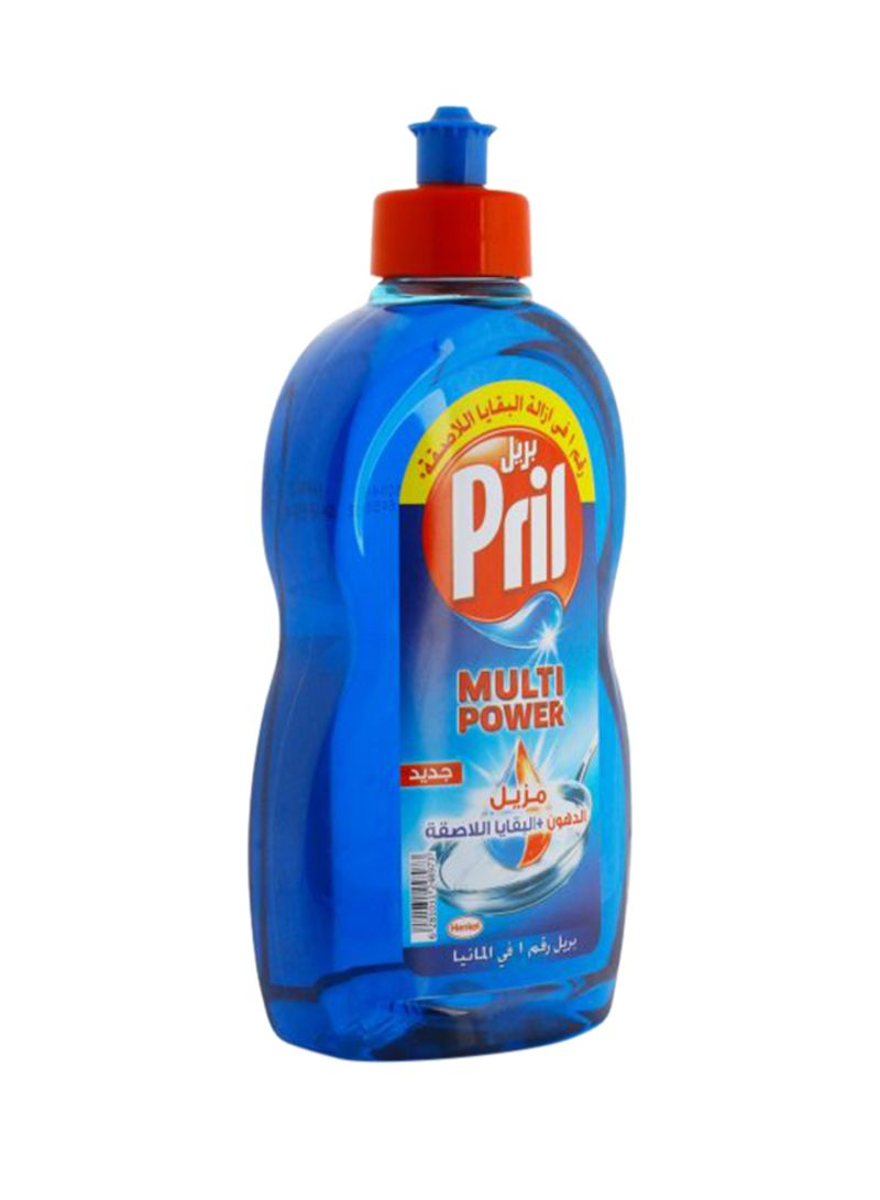 Multi Power 12 Dishwashing Liquid Blue 500ml