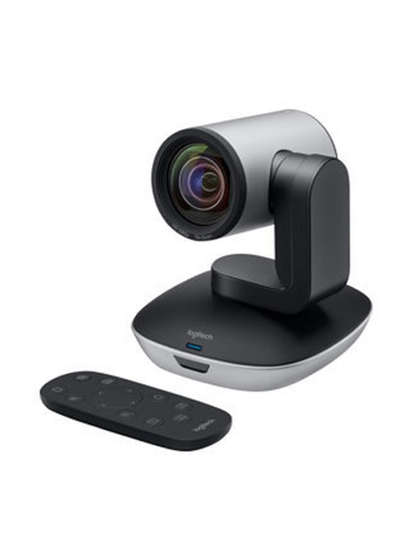 Shop Logitech PTZ Pro 2 EMEA Webcam With Remote Control Grey