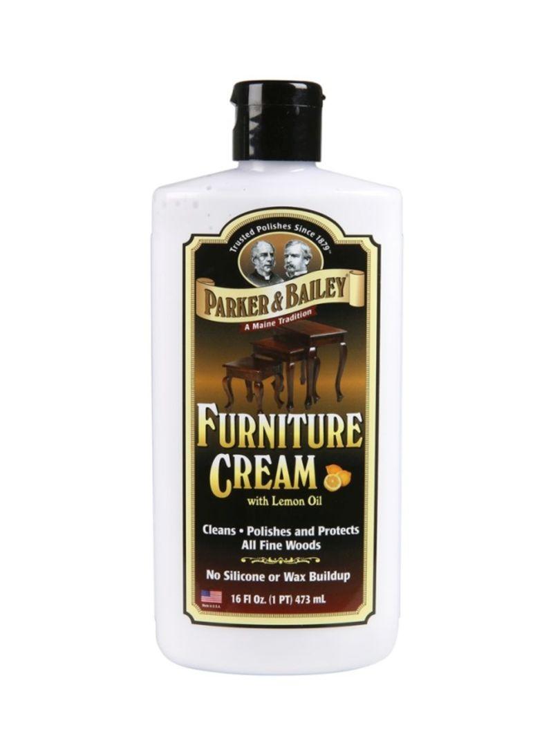 Furniture Cream With Lemon Oil