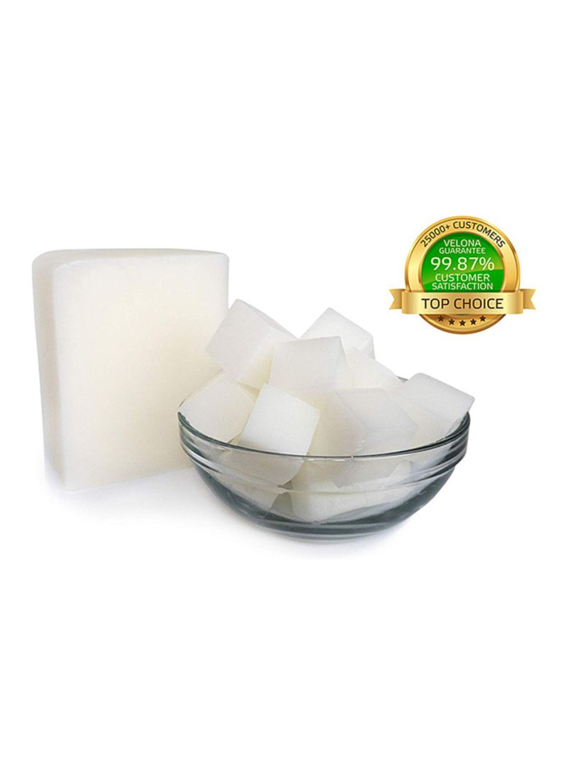 2 Lb White Glycerin Melt /& Pour Soap Base Organic
