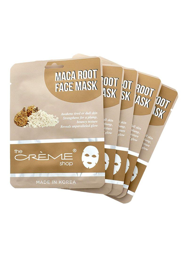 Shop The Creme Shop The Crème Shop Maca Root Face Mask 5