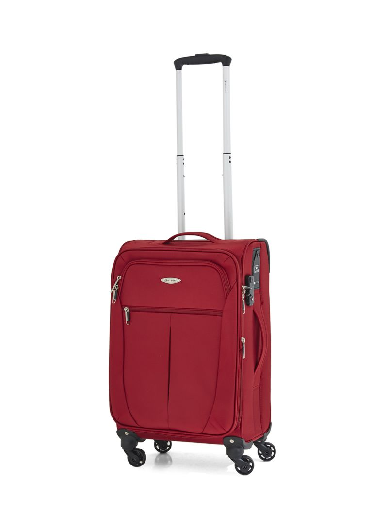 0ece1f6fa Shop EMINENT 20 Inch Nylon Spinner Luggage Trolley Case Red online ...