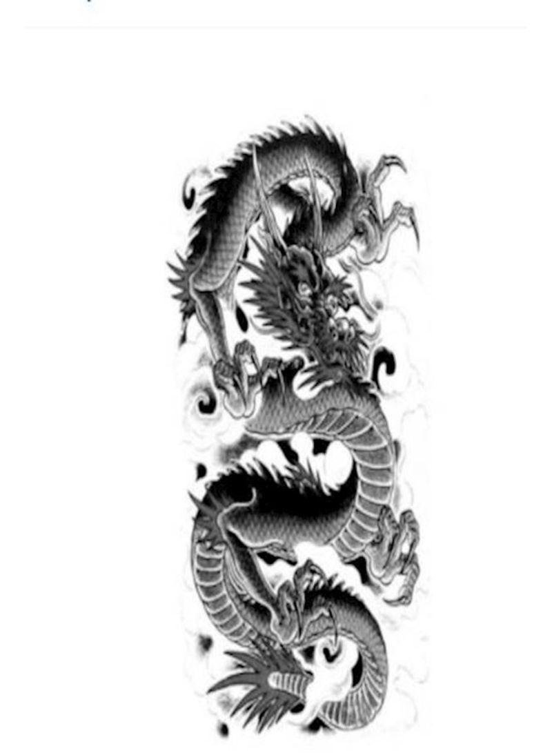 Shop Generic Unisex Simulation Dragon Tattoo Online In
