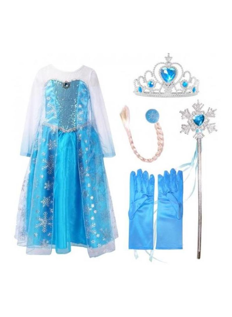 Shop  Princess Frozen Costume And Accessories online in Riyadh, Jeddah and all KSA