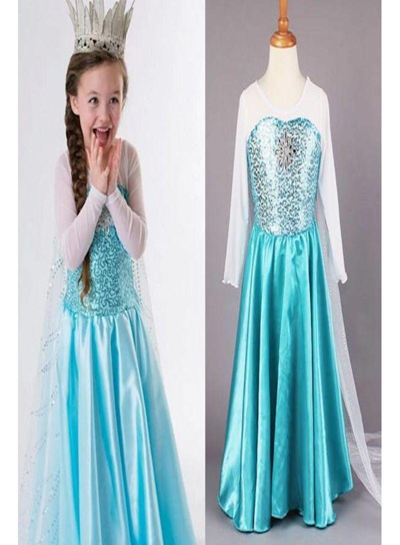 Shop  Elsa Frozen Party Costume online in Riyadh, Jeddah and all KSA