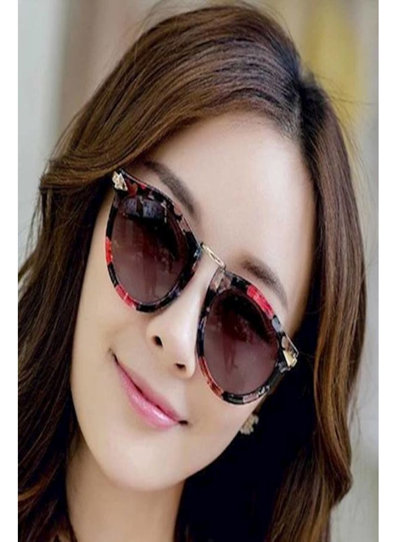 499edfc1fbfd Shop Generic Women's Women Fashion Flower Style Retro Reflective ...