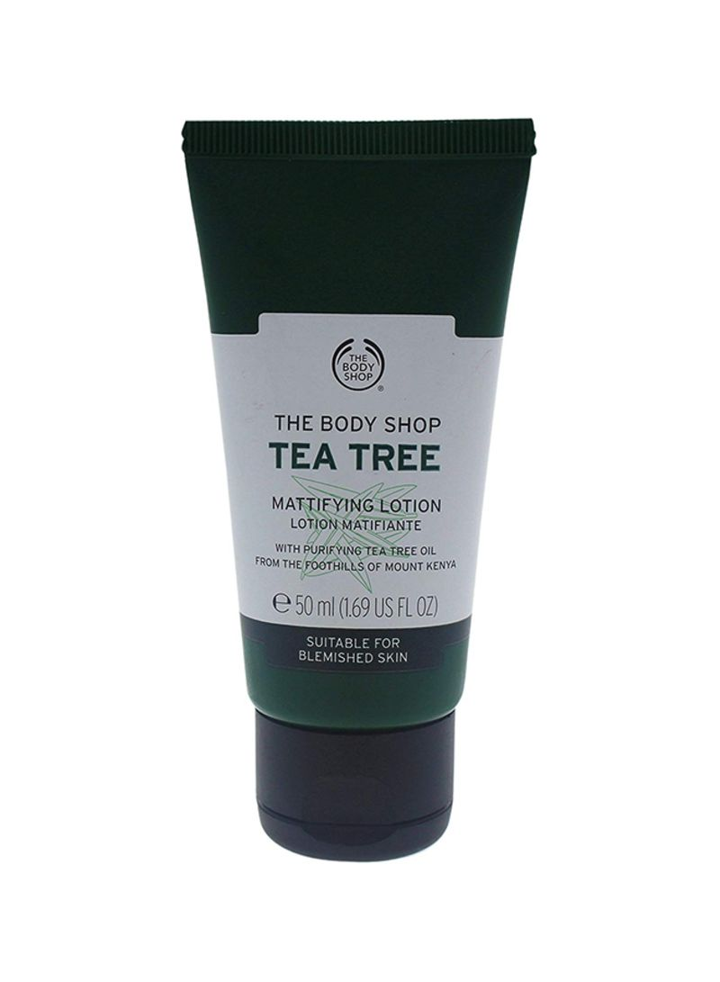 Shop the body shop Tea Tree Mattifying Lotion For Blemished Skin 1 69 ounce  online in Dubai, Abu Dhabi and all UAE
