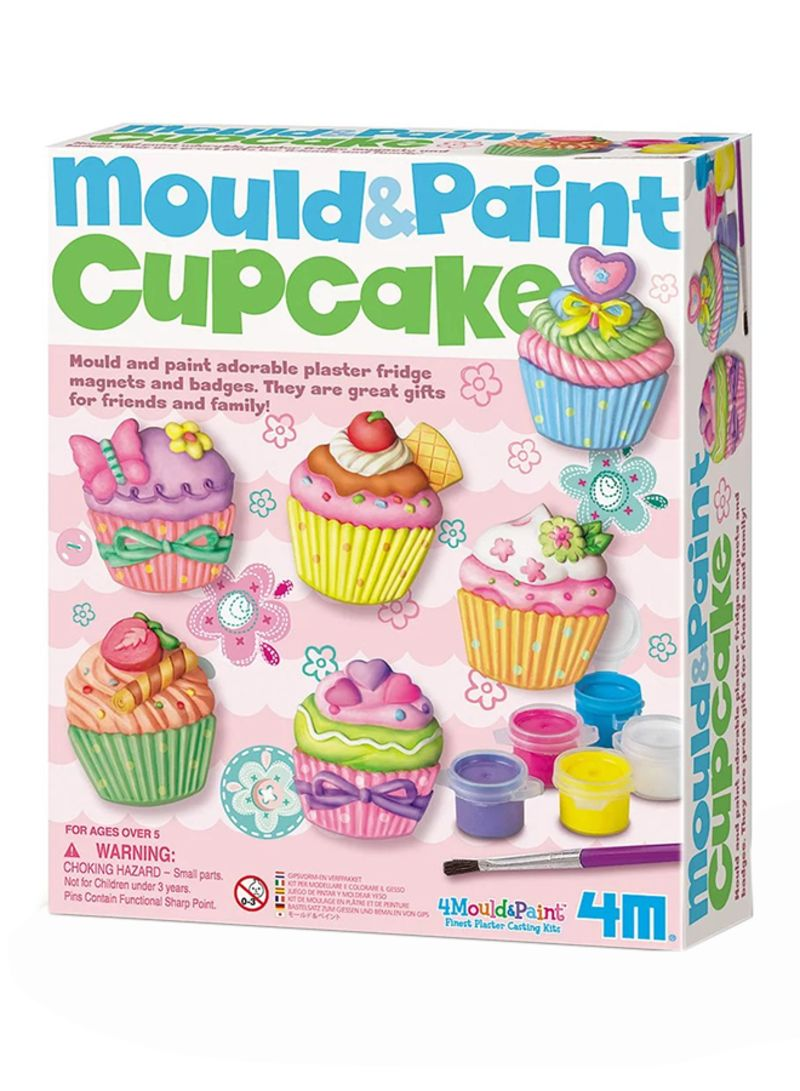 Mould And Paint Cup Cake Craft Kit 18.2 Centimeter