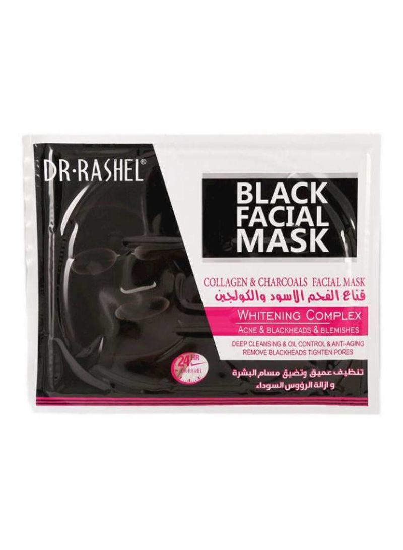 Shop Dr  Rashel Charcoal Black Face Mask Remove Blackhead, 60 gm Black  online in Dubai, Abu Dhabi and all UAE