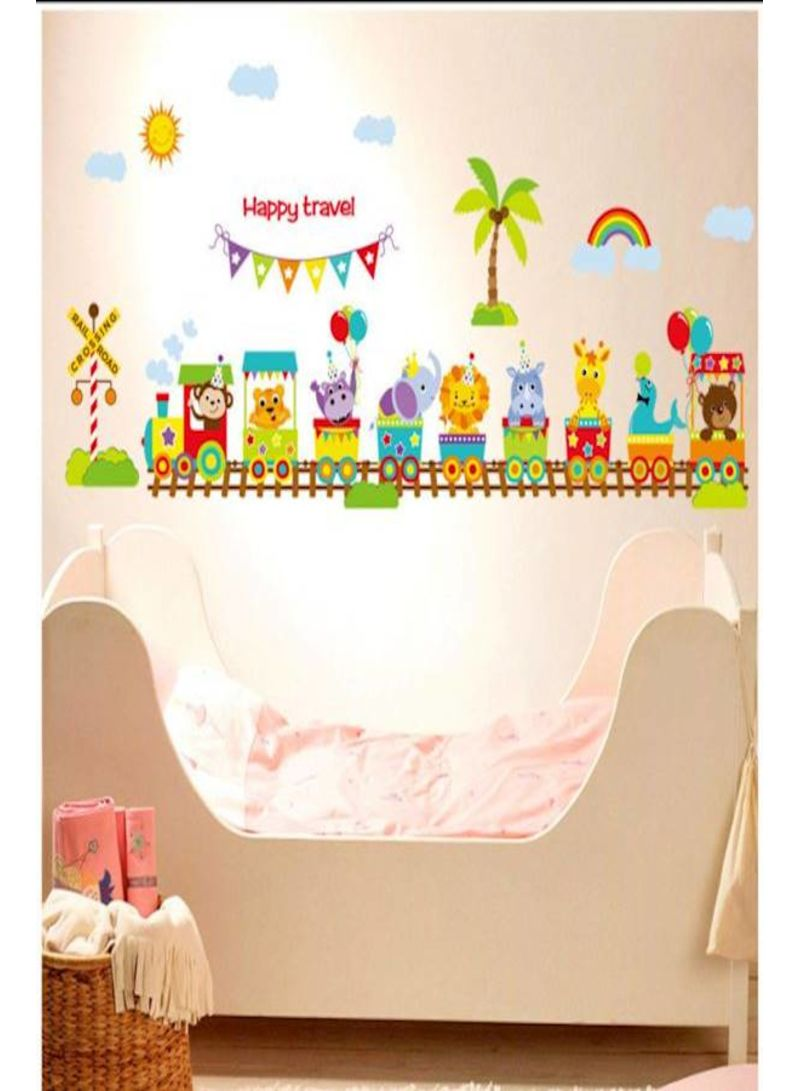 Cartoon Lovely Animals Wall Stickers For Kids Rooms Boys Girls Children Bedroom Home Decor Mm Price In Uae Noon Uae Kanbkam