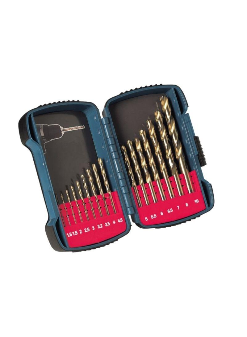 Shop Makita PT Makita ACC HSS Drill Bit 16pcs/set P-51873 Multicolor online  in Dubai, Abu Dhabi and all UAE
