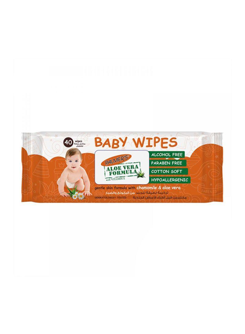 40-Piece Baby Wipes Flow