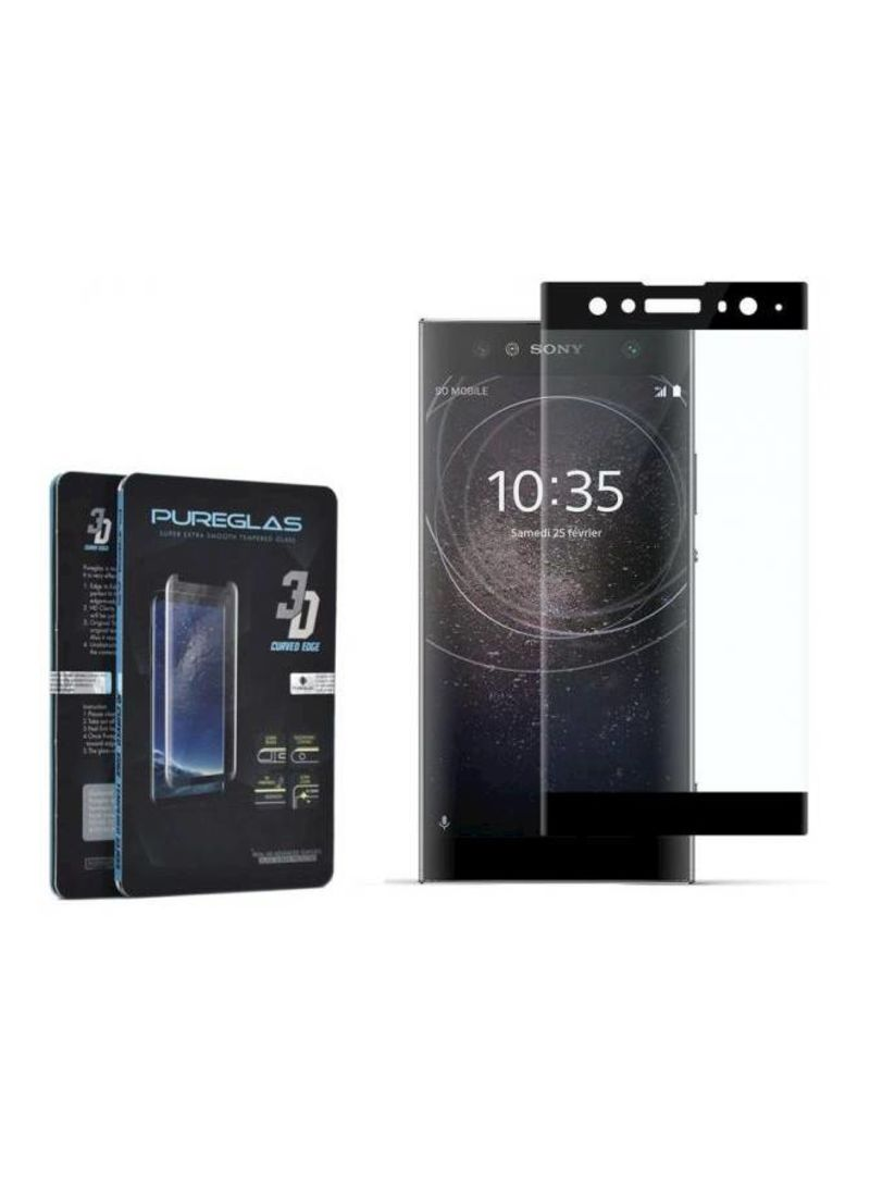 بيور جلاس ولاصقة حماية شاشة لهاتف سوني إكسبيريا XA2
