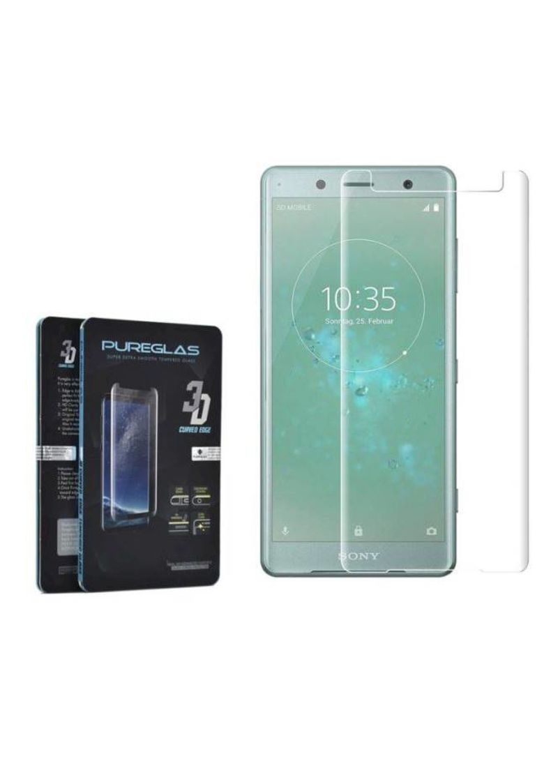 بيور جلاس و لاصقة حماية لشاشة هاتف سوني إكسبيريا XZ2