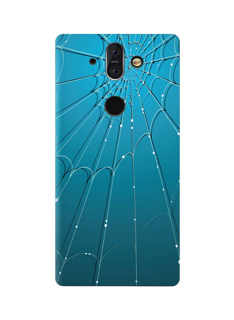 Shop AMC DESIGN Amc Design Nokia 8 Sirocco Tpu Silicone Case With Blue  Spider Web Pattern Multicolor online in Dubai, Abu Dhabi and all UAE