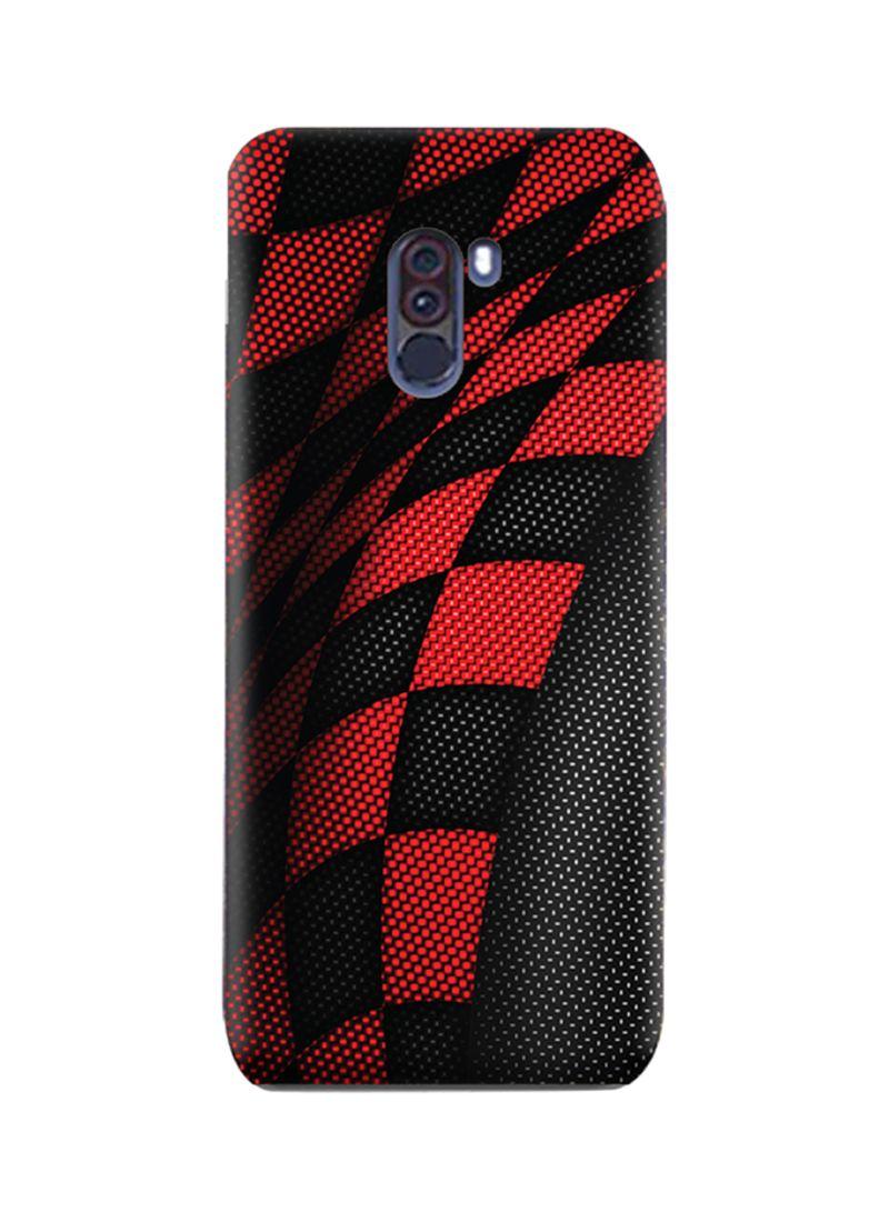 Shop AMC DESIGN Amc Design Xiaomi Pocophone F1 Tpu Silicone Case With  Sports Red & Black Pattern online in Dubai, Abu Dhabi and all UAE