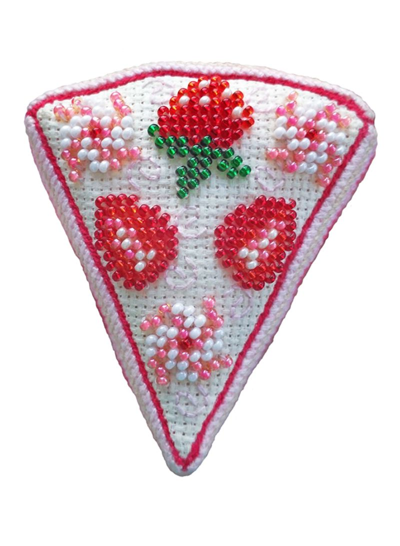 Shop Zengana Sewing Cross-Stitch Kit Strawberry Cake online in Dubai, Abu  Dhabi and all UAE