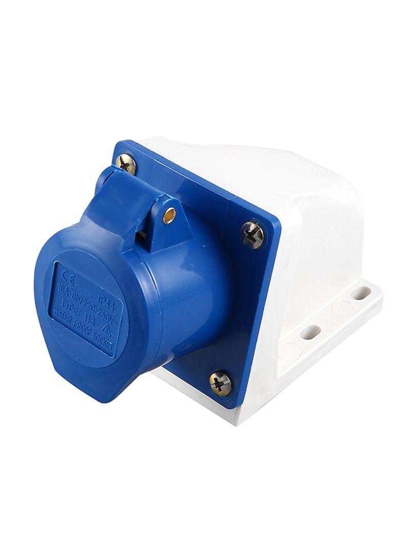 16 Amp 3 Pin Industrial Plug Socket 240V Weatherproof IP44 Building Industrial