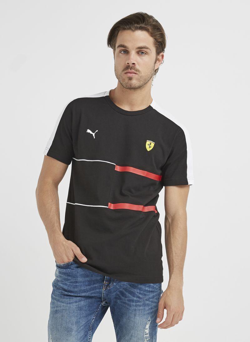 089b6d75d Shop Puma Scuderia Ferrari T-Shirt Black online in Dubai, Abu Dhabi ...