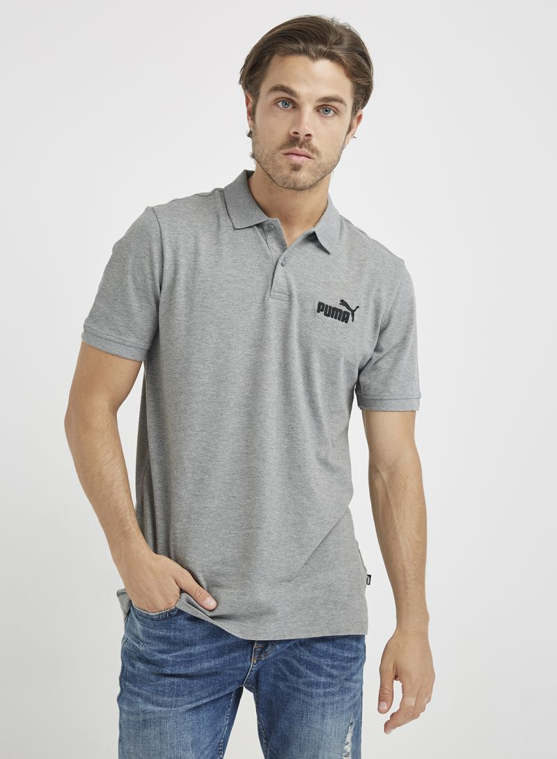 deedf32349c Shop Puma ESS Pique Polo Grey online in Dubai, Abu Dhabi and all UAE